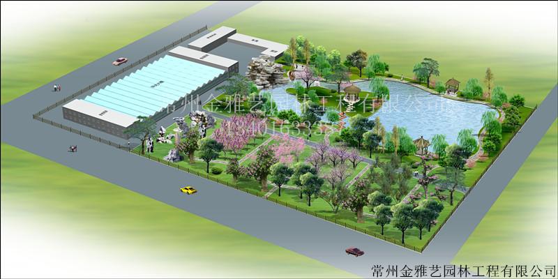 公园整体景观绿化设计