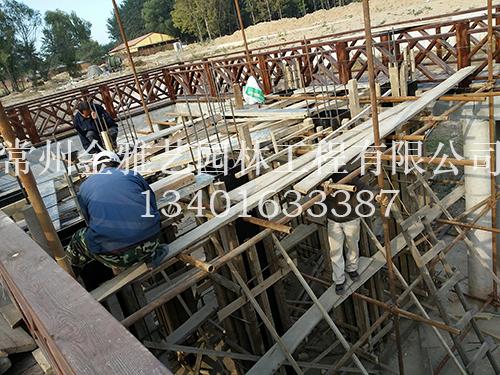 水车基础施工