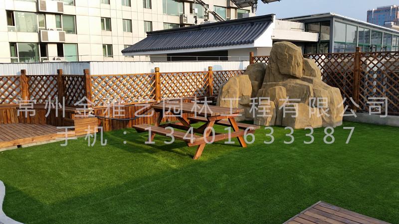 北京市八一中学屋顶花园6