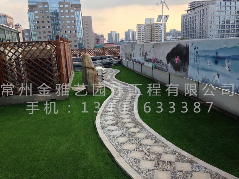 北京市八一中学屋顶花园9