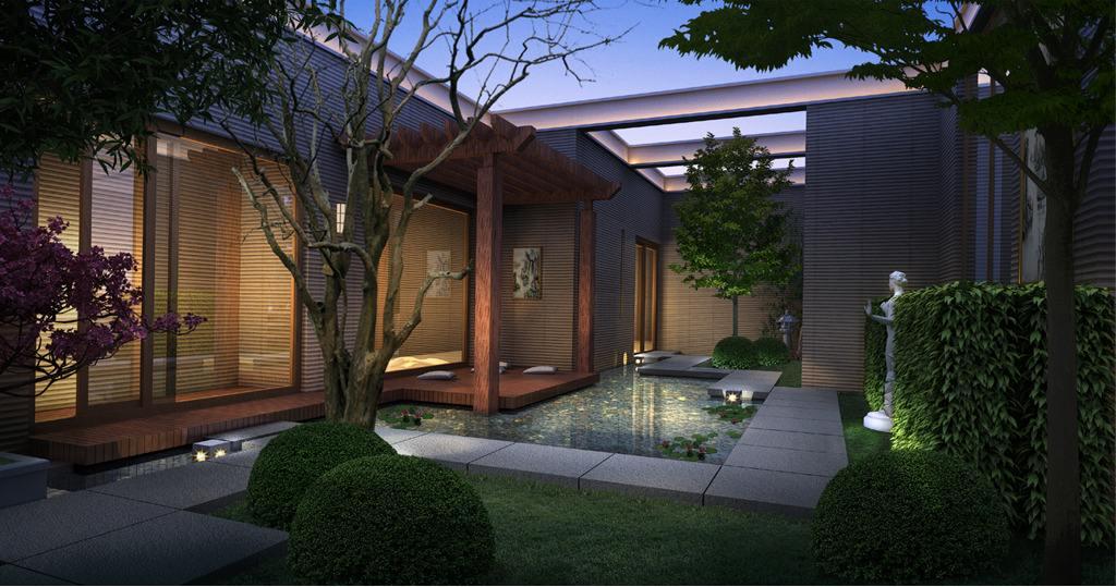现代庭院6