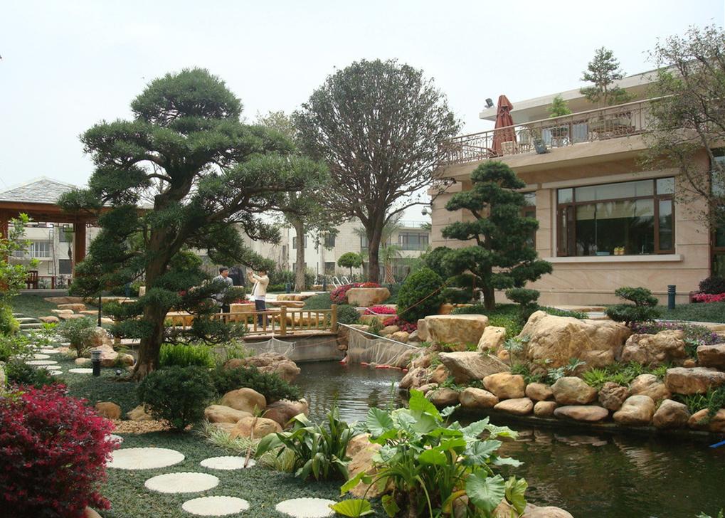 现代庭院3