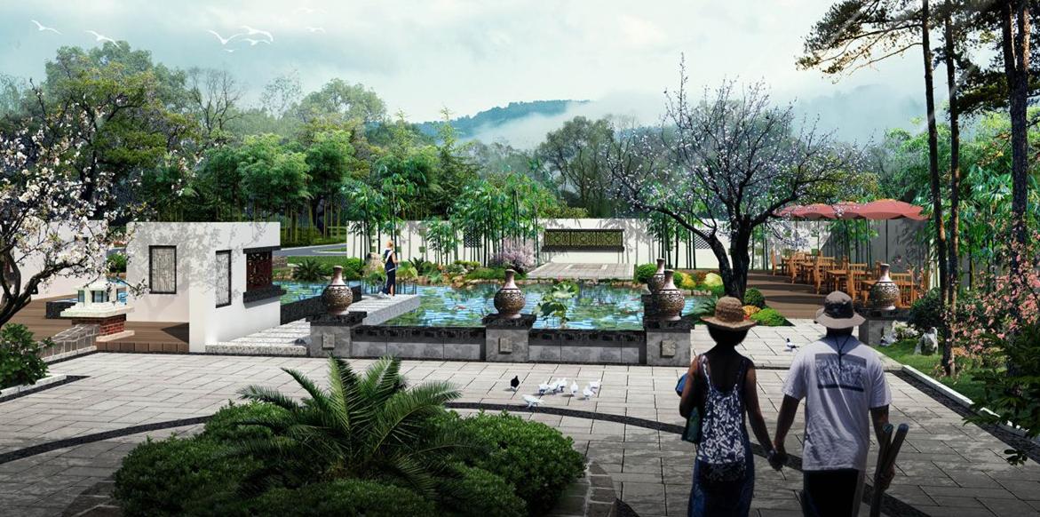 中式庭院2